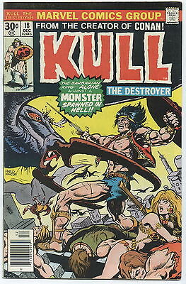KULL THE DESTROYER (CONQUEROR), Issue #18, (Marvel 1972), VF