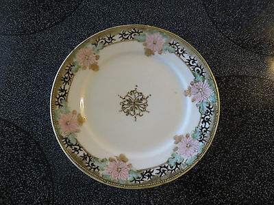 """Authentic Nippon Morimura High Detail Bread & Butter Plate 6"""""""