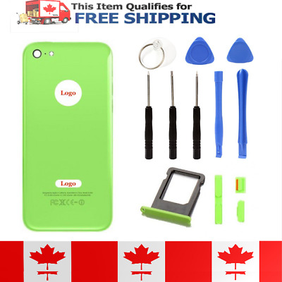 iPhone 5C Green Naked Frame Back Housing Battery Cover