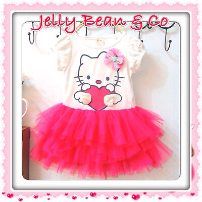 Hello Kitty Red TuTu Dress - US Seller Super Fast Shipping!!!