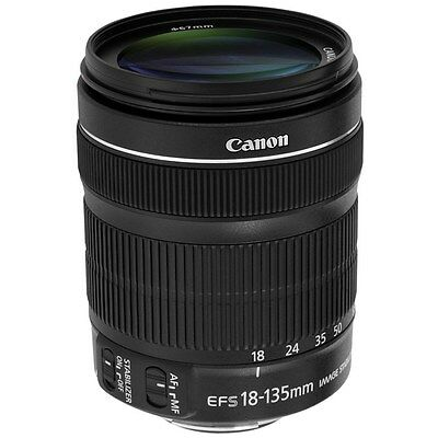Canon EF-S 18-135mm f/3.5-5.6 IS STM Lens for EOS DSLR Cameras + Extra