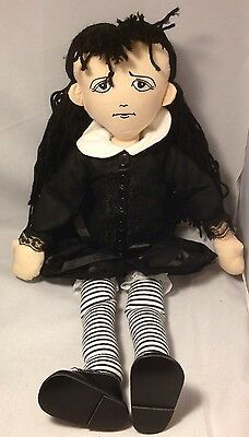 Tonner Raggedy Agnes Dreary SIGNED Effanbee Doll Goth 2008 Halloween Convention