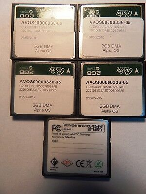 Bally 2GB CF Card Industrial Grade NOT ERASED Lots of 5
