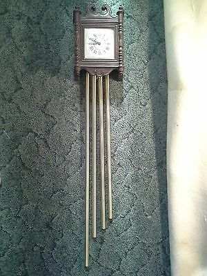 VINTAGE NUTONE K-46 TELECHRON MOTERED ELECTRIC DOORBELL CHIMES WALL CLOCK WORKS