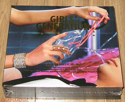 GIRLS' GENERATION SNSD Mr.Mr. 4TH MINI ALBUM K-POP CD + POSTER SEALED