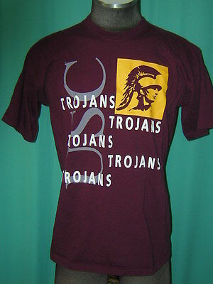 S3476 USC Trojans t-shirt Adult XL made in USA University of Southern California