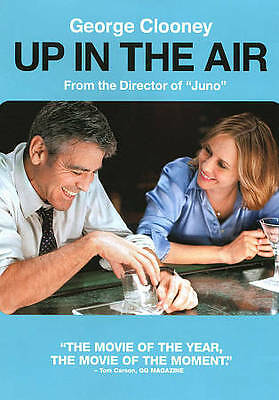 Up in the Air (DVD, 2010) George Clooney NEW