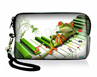 Tree Frog Neoprene Case Bag Pouch Fr Digital Camera Cell Phone Ipod touch Iphone