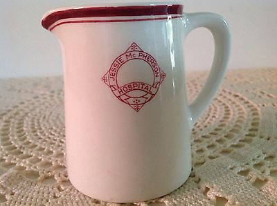 VINTAGE STEELITE VITRIFIED GLOBE POTTERY Co.Ltd. ENGLAND - HOSPITAL JUG - DATED