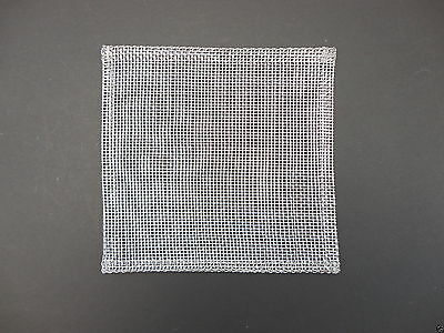 Metal Wire Mesh Gauze Square Bunsen Burner Science Schools Laboratory Use