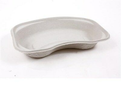 DISPOSABLE MEDICAL PULP KIDNEY DISH TRAY BOWLS 700ml - BIODEGRADABLE -10 to 100