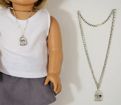 """For American Girl Doll and Child Purse Design Jewelry, Clothes 18"""" Dolls"""