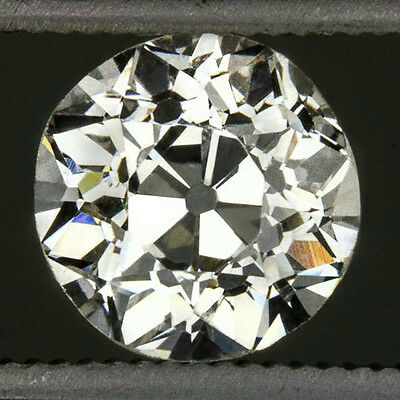 VINTAGE 0.62ct H VS2 OLD EUROPEAN CUT DIAMOND EGL-USA CERT LOOSE ROUND ANTIQUE