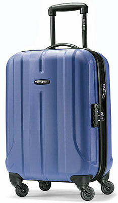 "Samsonite Fiero 20"" Carry On Spinner 4 Wheeled Hardside Upright Luggage - Blue"