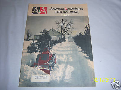 1965 AMERICAN AGRICULTURIST & THE RURAL NEW YORKER MAG.