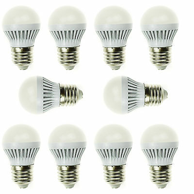 New 10 pcs wholesale buy LED Fluorescent bulb E27 3W Mini Warm White Home light
