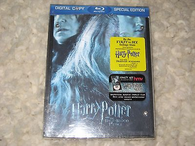 Harry Potter and the Half Blood Prince Special Edition Blu Ray New  Lenticular