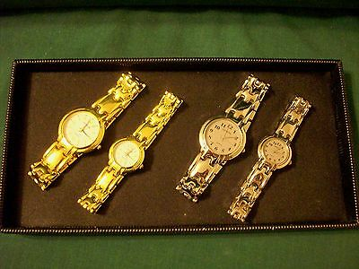 *NEW* -  LOT OF 2  MATCHING WATCH SETS