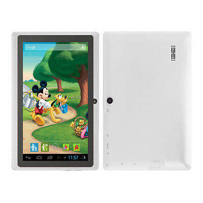 """White 7"""" Google Android 4.2 Tablet PC MID for Kids Children Dual Core USA Stock"""
