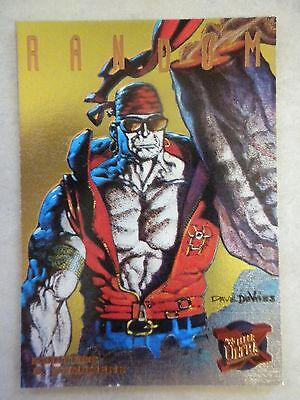 Random Limited Edition Gold - #4 of 9 - 1995 Fleer Ultra X-Men Hunters & Stalker