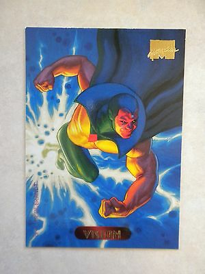 Vision - #132 - Fleer 1994 Marvel Masterpieces 1994