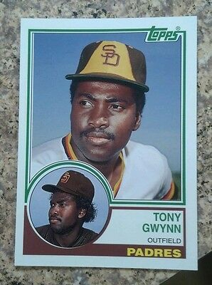 2006 Topps Tony Gwynn Rookie of the Week Reprint 1983 San Diego Padres