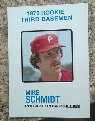2006 Topps Mike Schmidt Rookie of the Week Reprint 1973 Philadelphia Phillies