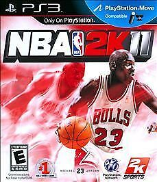 NBA 2K11 PLAYSTATION3 PS3 BASKETBALL SLAM DUNK PS MOVE COMPATIBLE MICHAEL JORDAN