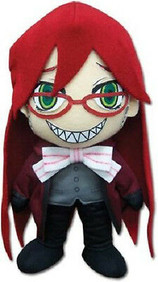 "*NEW* Black Butler 2: Grell 8"" Plush by GE Animation"