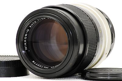 """Nikon NKKOR Q Auto 135mm F2.8 From Japan """"Very Good"""""""