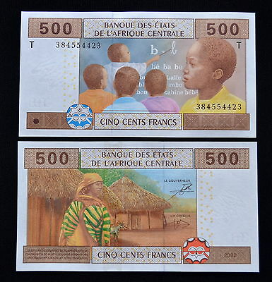 Central African States 500 Francs. 1PCS. Africa. UNC