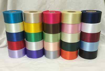 1 Metre x 45mm Polyester Ribbon For Cake Decorating/Ribbon Crafts - 25 Colours