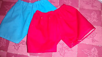 18-Inch-Doll-Clothes-Handmade-2-Pair-of-Shorts