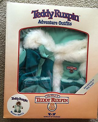 Teddy Ruxpin Adventure Outfits Winter Outfit  N