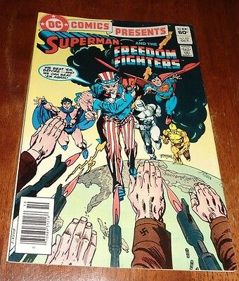 DC COMICS PRESENTS # 62 VF- (1983 DC)  BORN ON THE FOURTH OF JULY.