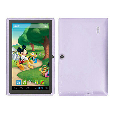 """Purple 7"""" Google Android 4.2 Tablet PC MID for Kids Children Dual Core USA Stock"""