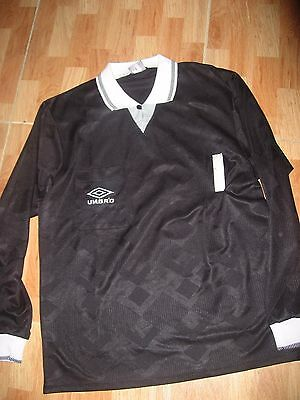 Vintage 1990's Judge Worn Camiseta Arbitro Futbol Football Shirt