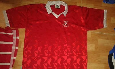 MALTA Vintage L Football Shirt Camiseta Futbol
