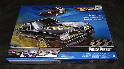 Tyco/Hot Wheels Police Pursuit Slot Car Track Set - NEW & Un-Opened