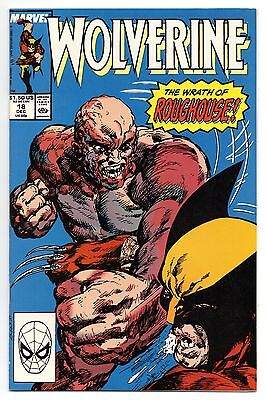 Wolverine Vol 2 No 18 Dec 1989 (VFN) Marvel Comics, Modern Age (1980 - Now)