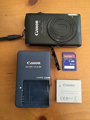 Canon PowerShot ELPH 300 HS 12.1 MP Digital Point-and-Shoot Camera (Black) Video