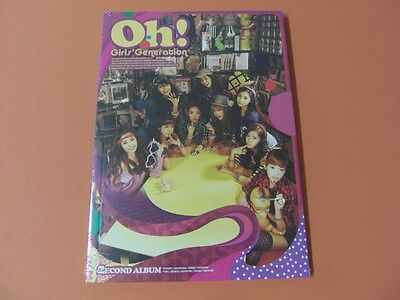 SNSD GIRLS' GENERATION Oh! CD (Sealed) $2.99 Ship K-POP