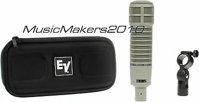 Electro-Voice RE20 EV Microphone w/case +stand adapter -Perfect Condition- L@@K!