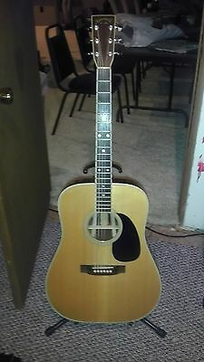 1977 Takamine F 375 S  6 String Acoustic Guitar