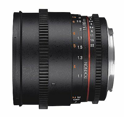 Rokinon DS 85mm T1.5 Cine Lens for Sony A DS85M-S