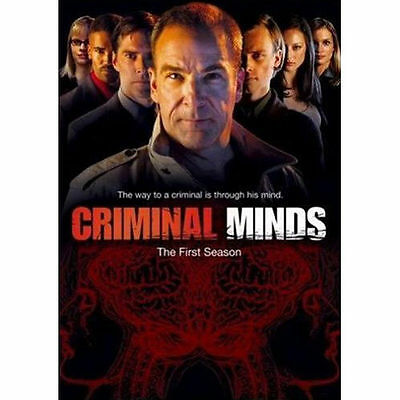 Criminal Minds : Complete First Season 1 (6-Disc DVD Set, 2006) Shemar Moore