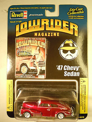 REVELL LOWRIDER MAGAZINE #149 '47 Chevy Sedan 1:64 Adult Collectible