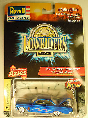 REVELL LOWRIDER MAGAZINE #151 '63 Chevy IMPALA 1:64 Adult Collectible