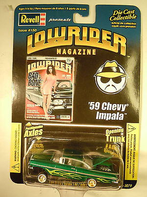 REVELL LOWRIDER MAGAZINE #150 '59 Chevy IMPALA 1:64 Adult Collectible
