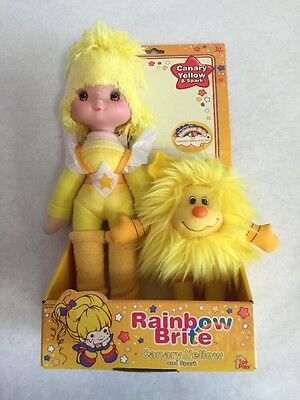Rainbow Brite Canary Yellow And Spark New 2003 Toy Play Dolls 3+